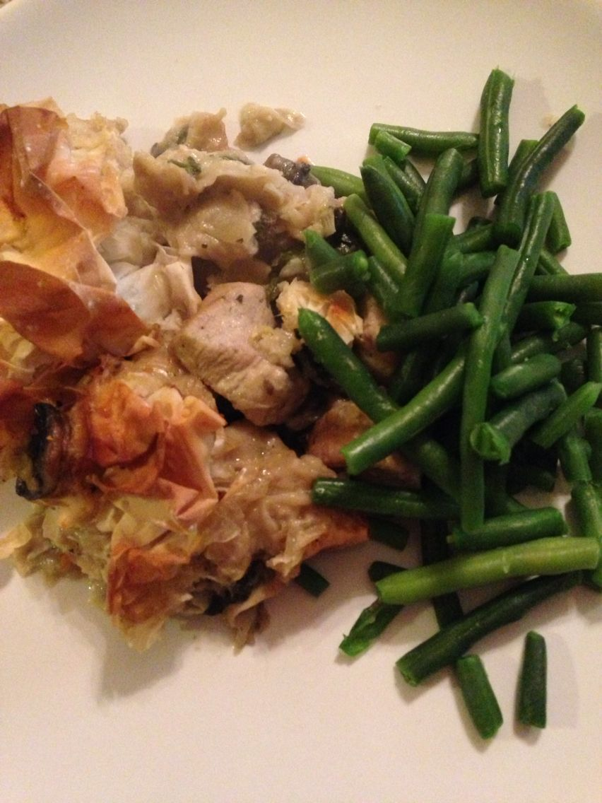 Lean In 15 Chicken Leek And Mushroom Pie Rest Day Meal Idea