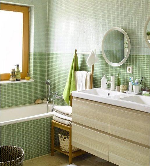 Une salle de bain simple et fonctionnelle sur le magazine LIVE