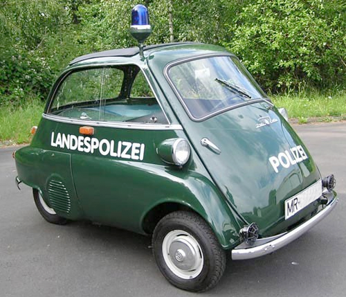 #Isetta als Polizeiauto