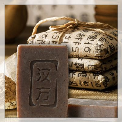 Chinese Character embossed soap