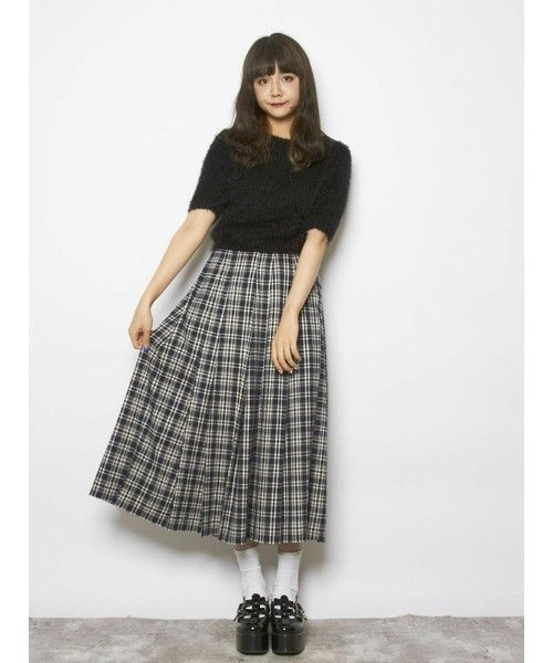 eecf2038d2f merry jenny,【girly】ピコレースプリーツミディスカート-WEAR | Fashion ...