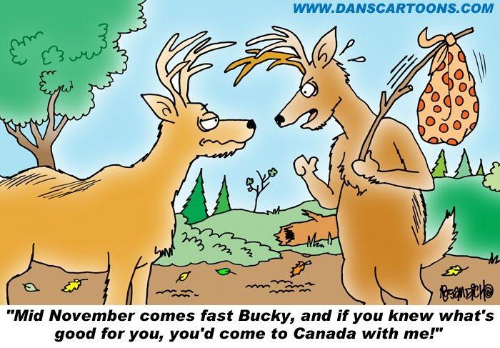 Deer Hunting Cartoon! | Redneck | Pinterest