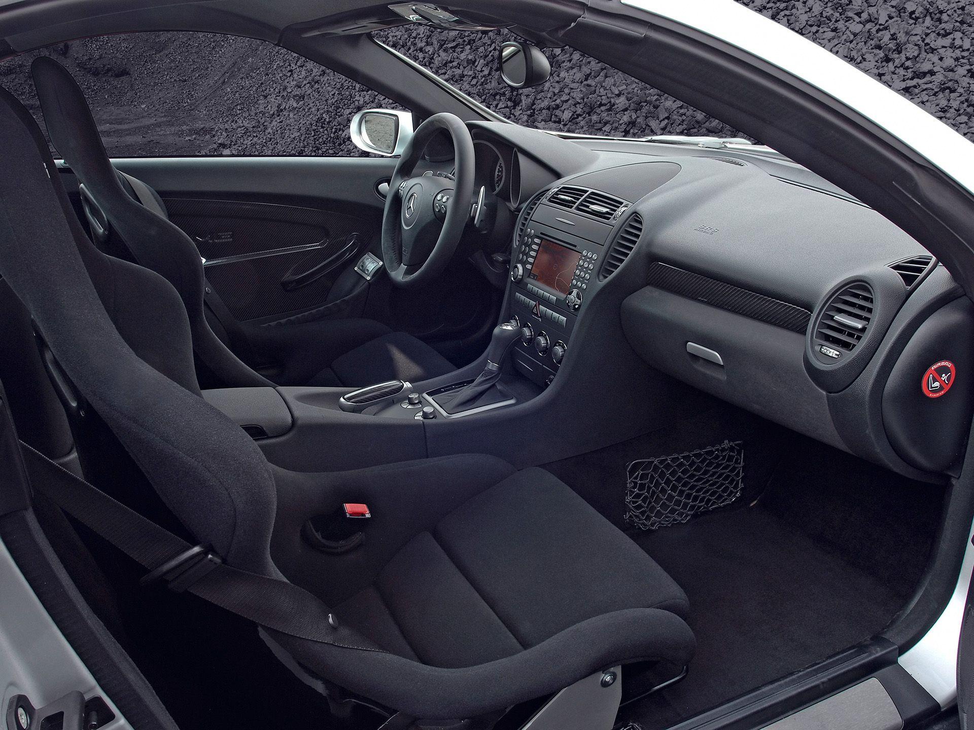 2007 Mercedes Benz Slk 55 Amg Black Series Images