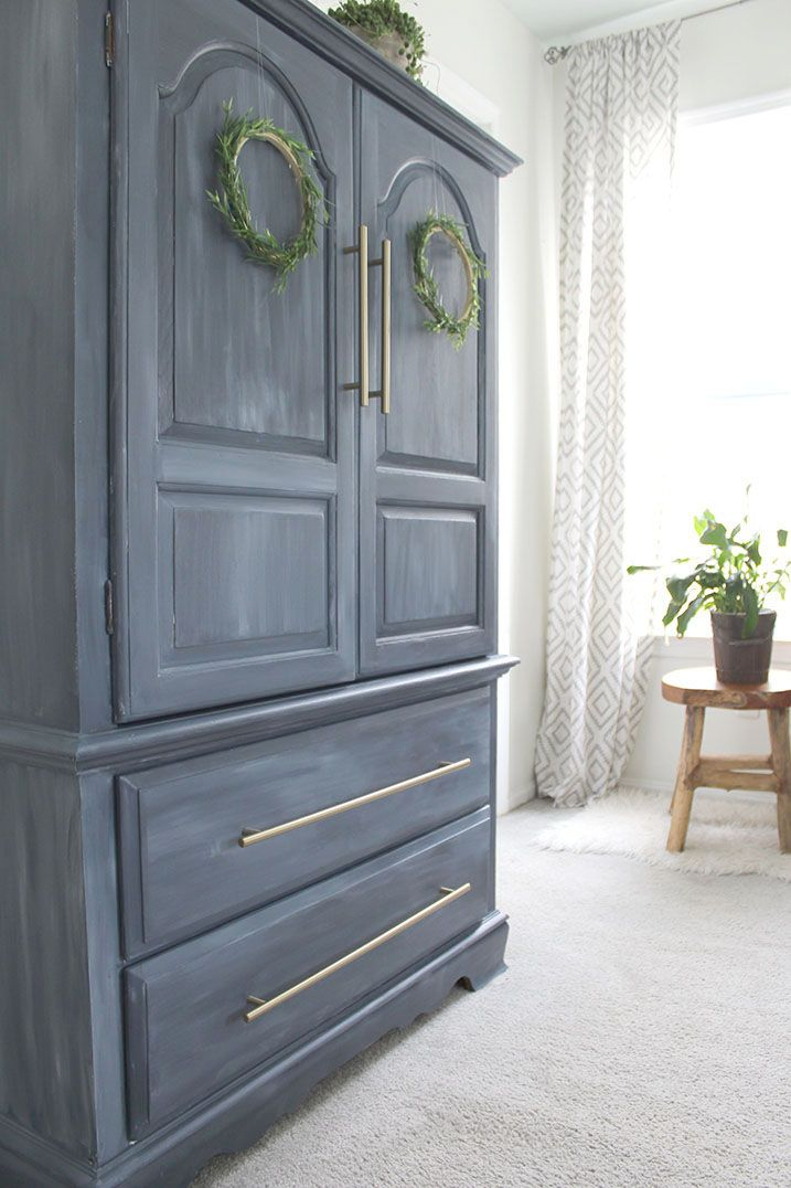 painted furniture  armoire makeover  armoire makeover