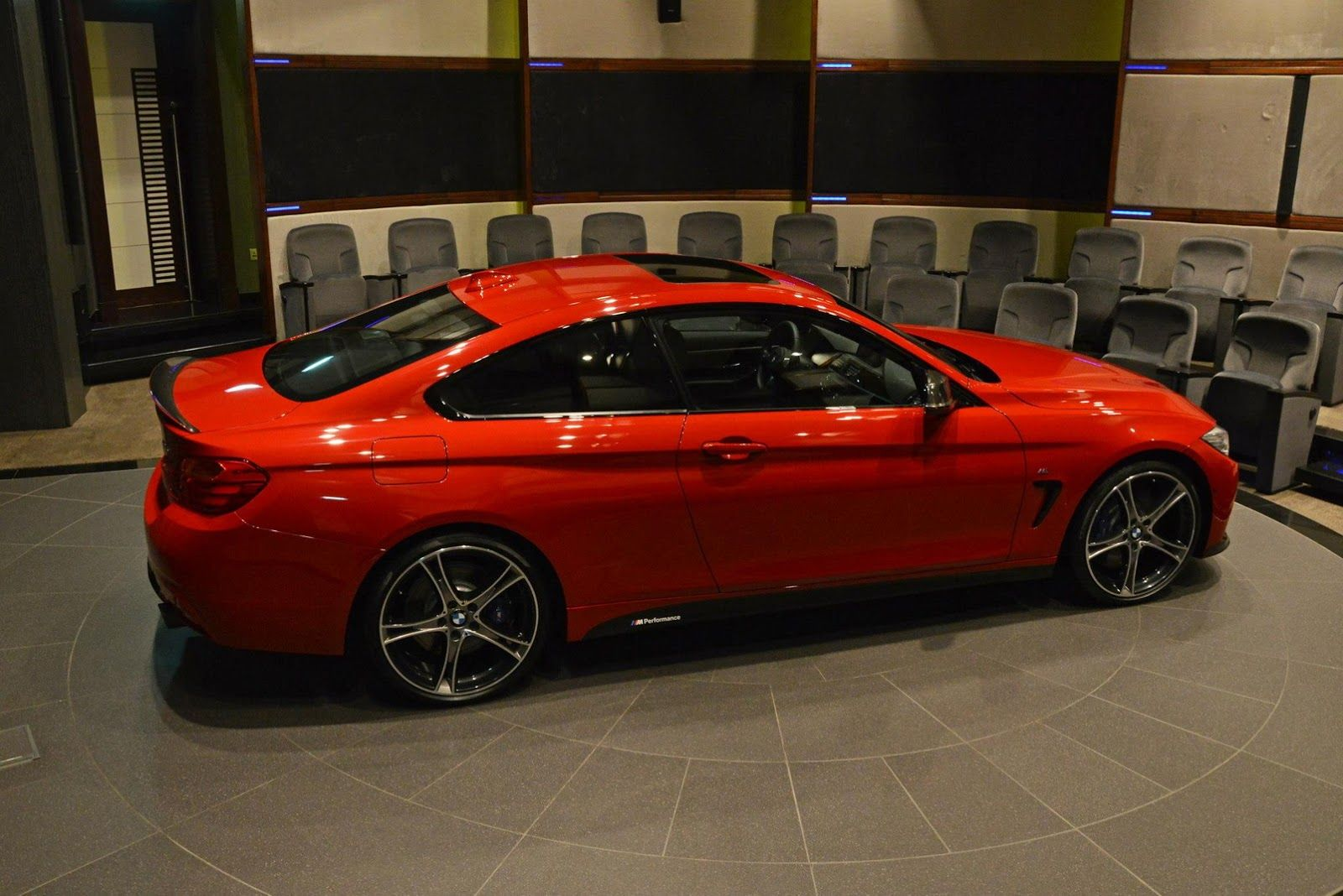 Red Bmw 435i Coupe M Sport Drops By Abu Dhabi Dealership Bmw