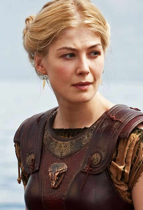 Rosamund Pike as Andromeda in Wrath of the Titans: I'm sorry that you think being human is not enough. But we humans hope when there's no hope. And we believe when to believe is idiotic. But sometimes, in spite everything, we prevail.
