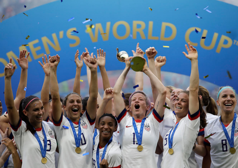 Usa Repeats As World Cup Champions Beating Netherlands 2 0