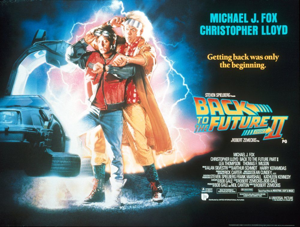 The Best 80s Sci Fi Film Posters The Future Movie Back To The