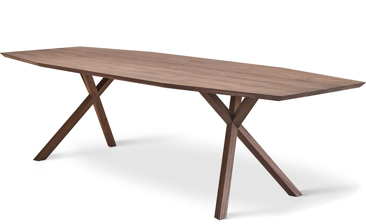 Xy Trapezium Dining Table Hivemodern Com Mobler