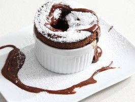 Grain-free Chocolate Souffle by Emeril Lagasse : Recipes : Cooking Channel