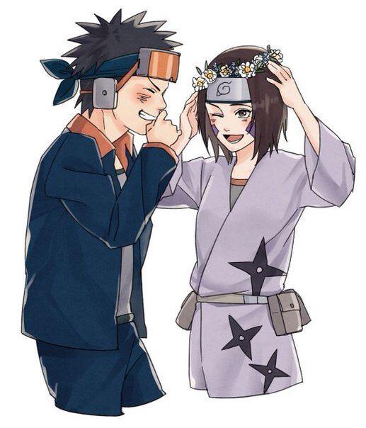 Obito • Rin | Naruto | Pinterest | Naruto, Anime and ...