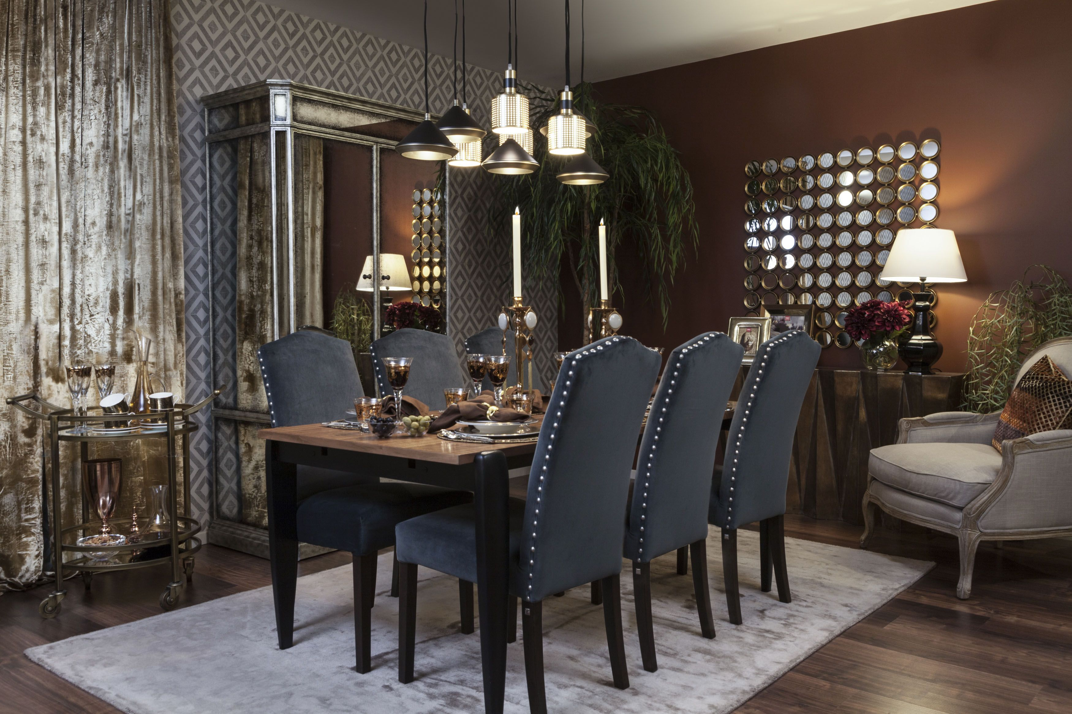 Dining Eclectic A Mix And Match Interior Inspired By Morocco