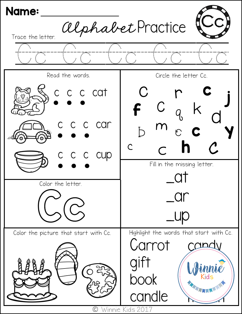 These Alphabet Printables Are Perfect For Assessments As Well As Reinforcing Your Studen Kindergarten Alphabet Practice Alphabet Practice Alphabet Kindergarten [ 1056 x 816 Pixel ]