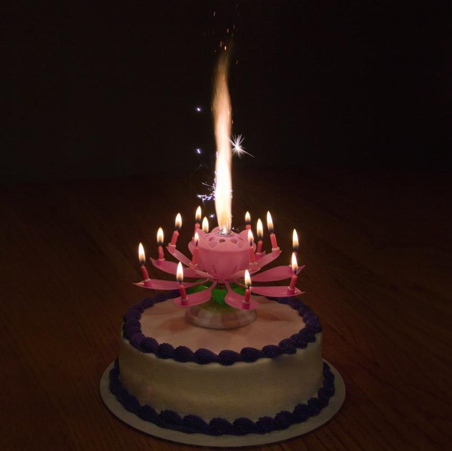 Blooming Musical Candle Inspireuplift Level Up Birthday Parties With This