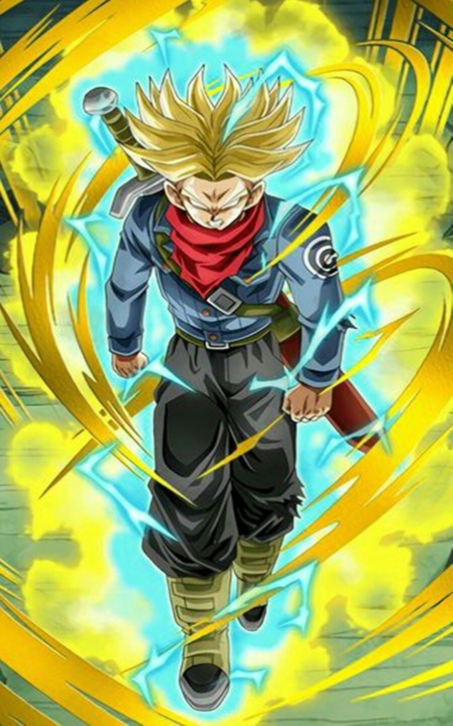 False Super Saiyan God Trunks With Images Dragon Ball