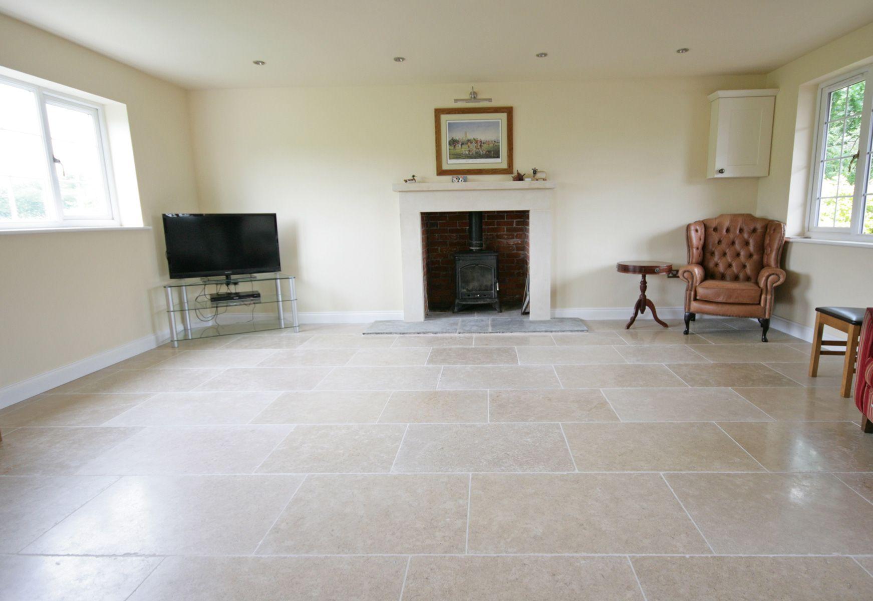 Dijon limestone garden room extensions room and house for Garden room flooring