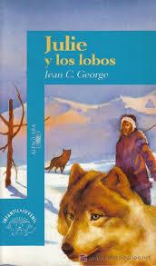 """""""Julie y los lobos"""" de Jean C. George. Ficha elaborada por Ana Benito."""