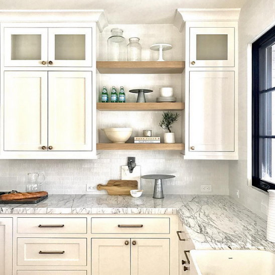 Open Shelving Ideas For Your Kitchen Classic Casual Home Interior Design Kitchen New Kitchen Cabinets Open Kitchen Shelves