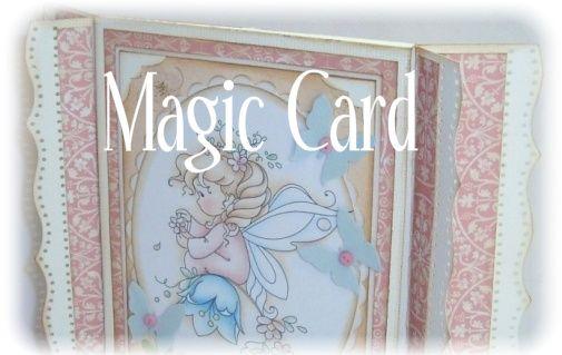 StampARTic: Magic card / Tryllekort - Tutorial