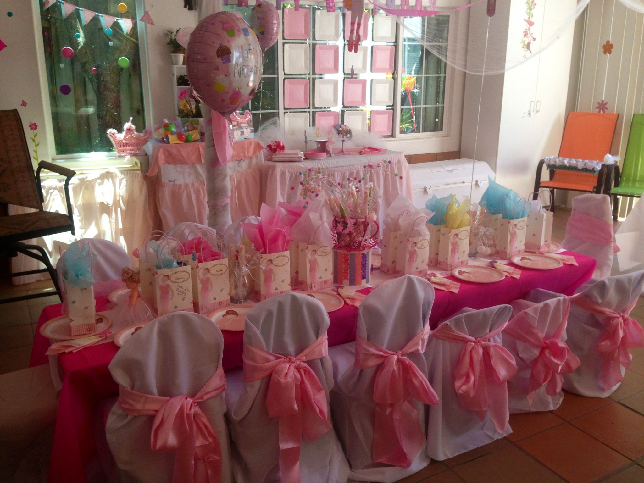 Birthday Party Ideas Princess Ballerina For Toddlers