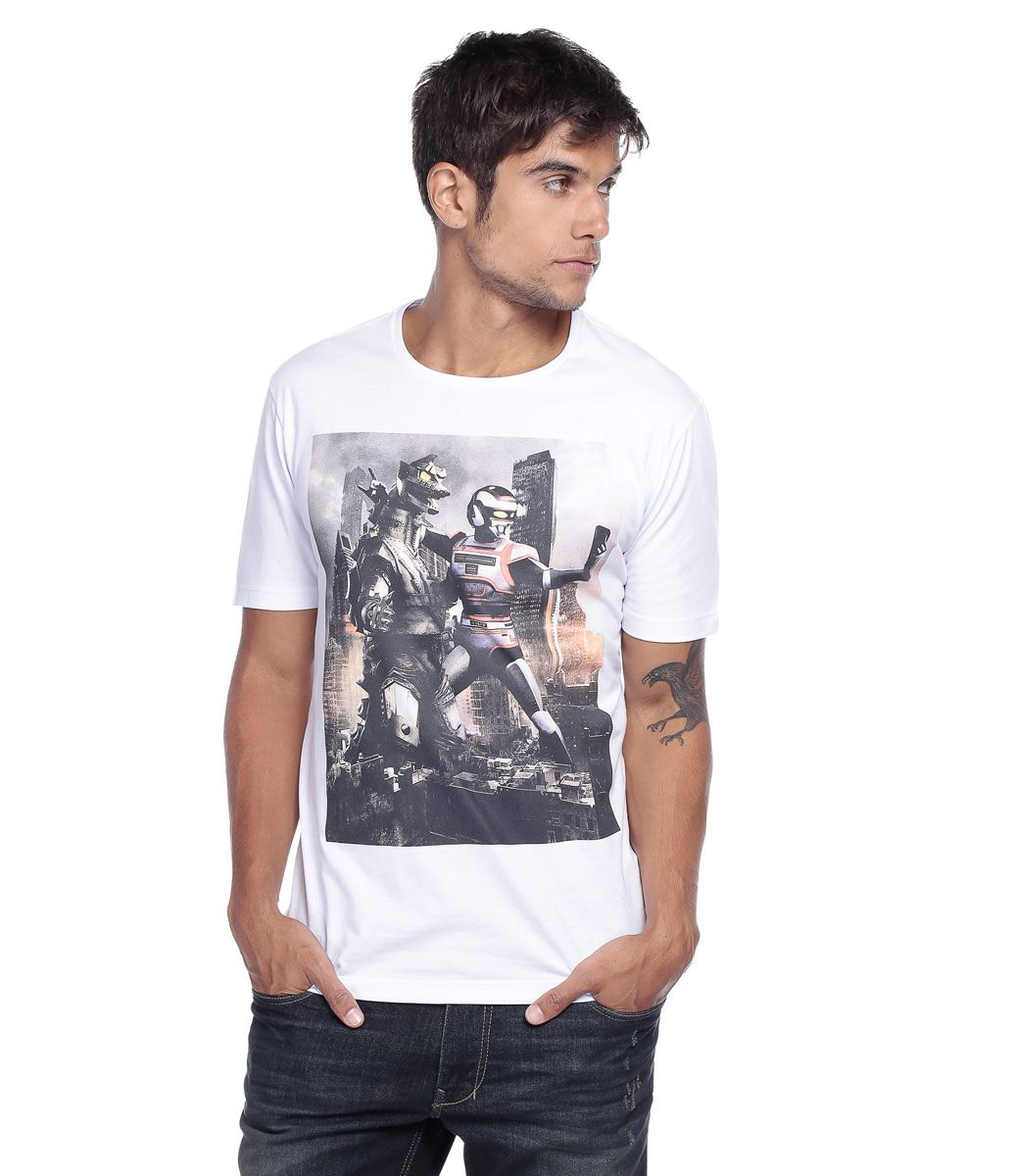fd47d699b Camiseta Masculina com Estampa do Jaspion - Lojas Renner ...