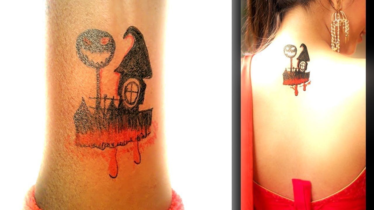 Photo of How To Made Nightmare Castle Tattoo temporary tattoo art – New Tattoos