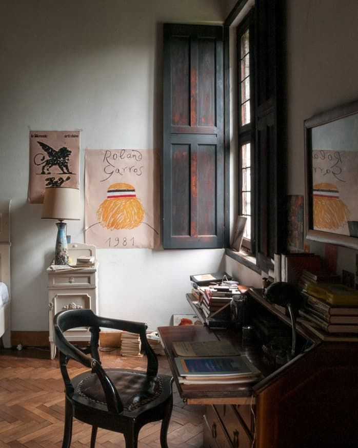 Call Me By Your Name Bedroom : bedroom, Story, Italian, Interiors, Home,, House, Paint, Interior,, Apartment, Interior