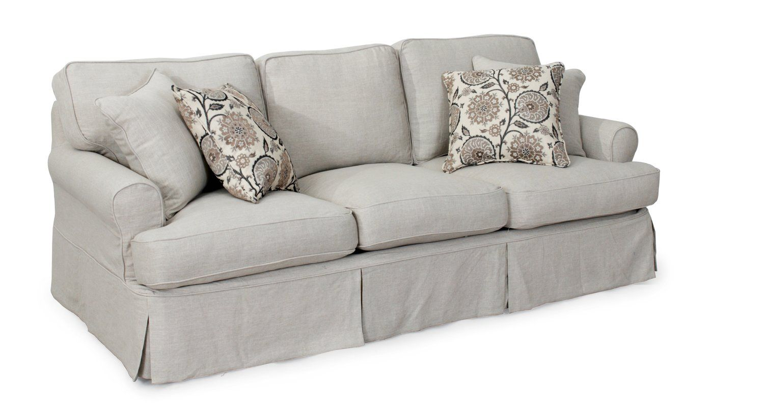 Favorite Slipcovered Sofas For Under 1500 Cushions On