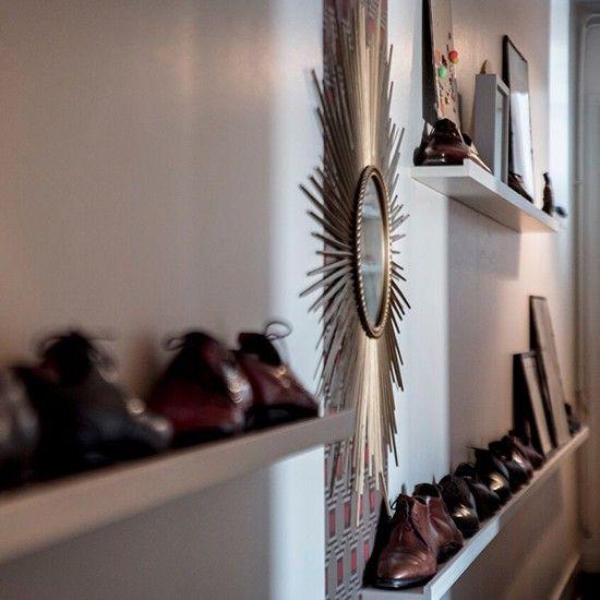 miroir et couloir - décoration atelier FB VISITES VISITS