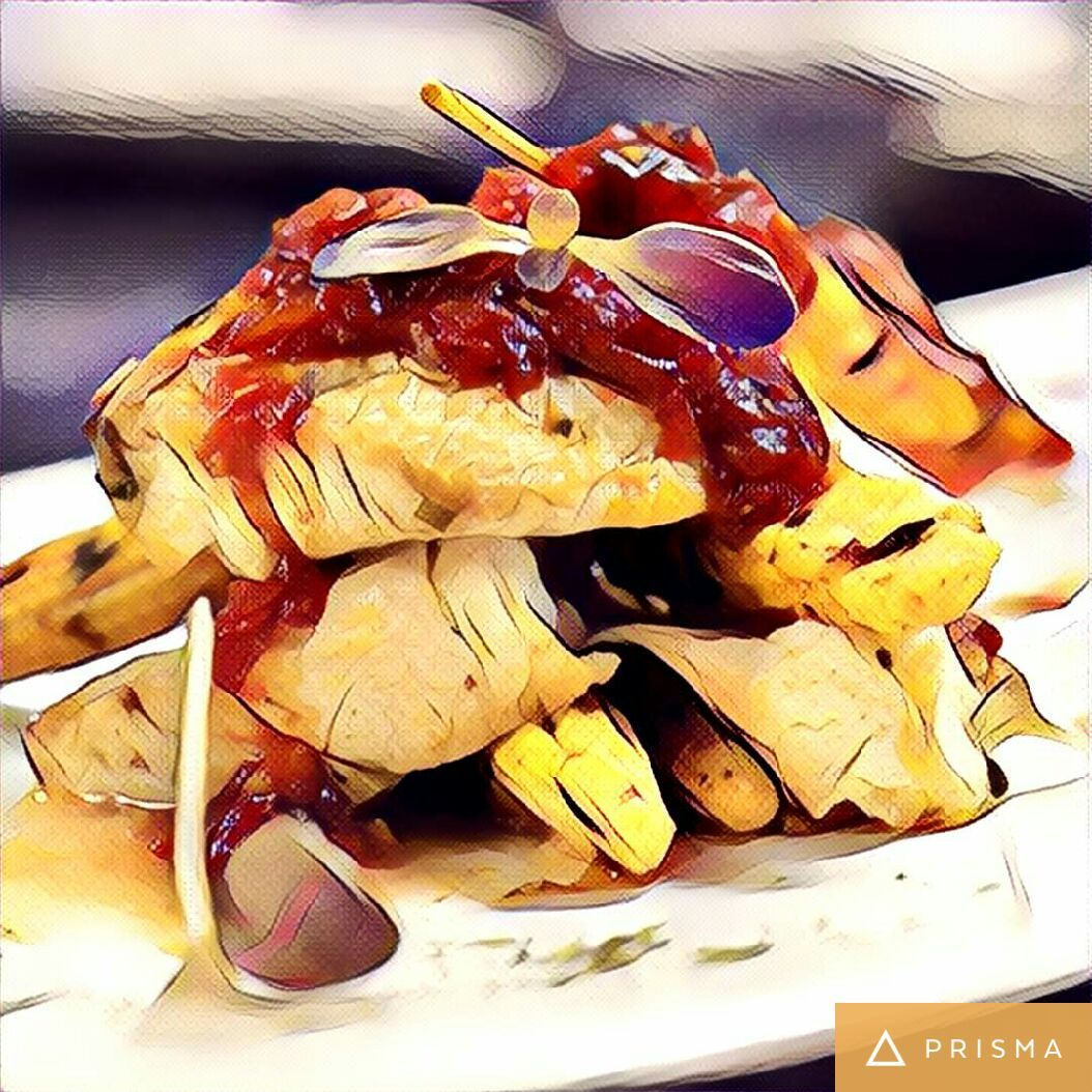 Does your food on Prisma look as delicious as this? If yes