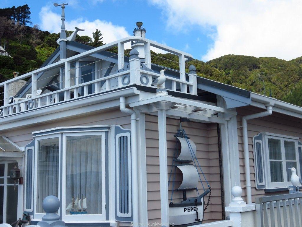 Neat nautical themed house