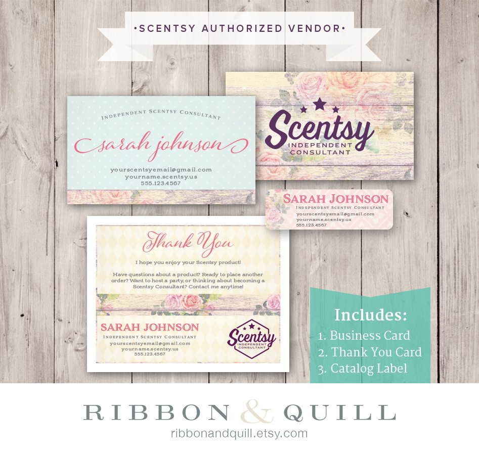 Authorized Scentsy Vendor • Scentsy Business Bundle • Rustic Rose ...