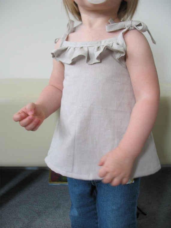 Cute Little Ruffle Shirt tutorial and pattern PDF child 6M-3T EASY ...