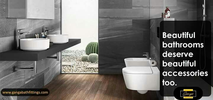 begin your day with beautiful bathroom accessories ganga bathfittings completebathroomsolutions for more