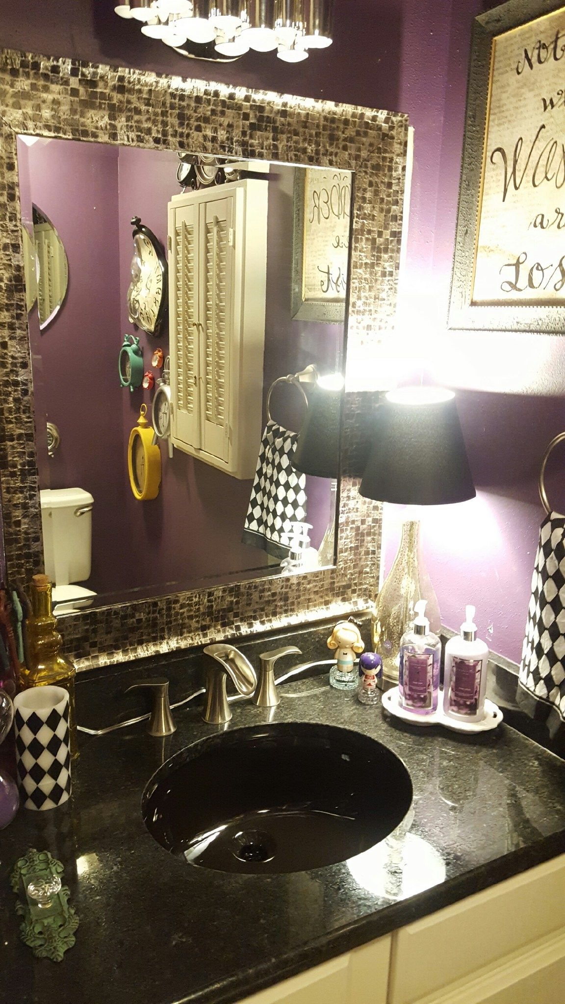 Modern Alice In Wonderland Bathroom With Images College