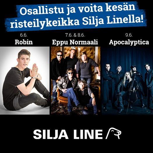 Voita kesän keikkaristeily Silja Linella - Robin, Eppu Normaali tai Apocalyptica: https://secure.emp.fi/com_3138_participate/?wt_mc=sm.pin.fp.keikakristeilykisa.21042016