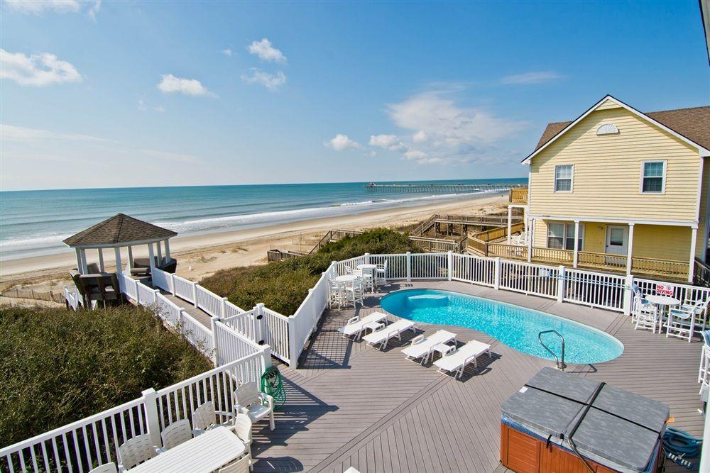 Seven-Bedroom Seven-Bath Oceanfront House in Emerald Isle