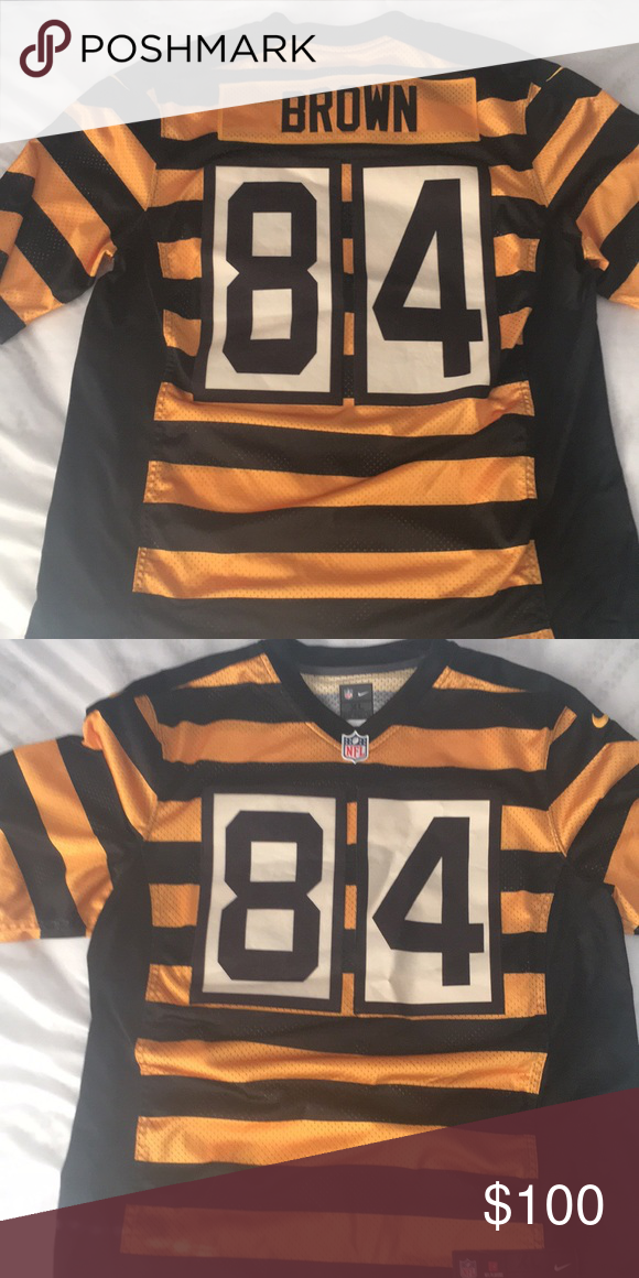 1787a56dc Antonio Brown Jersey Steelers XL Men s XL Antonio Browns Bumblebee Jersey  Worn a couple times 9 10 great condition Nike Shirts
