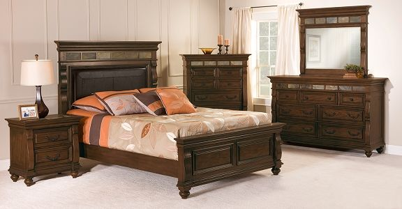 Mill Creek Bedroom Collection Furniture Queen Bed 599 99
