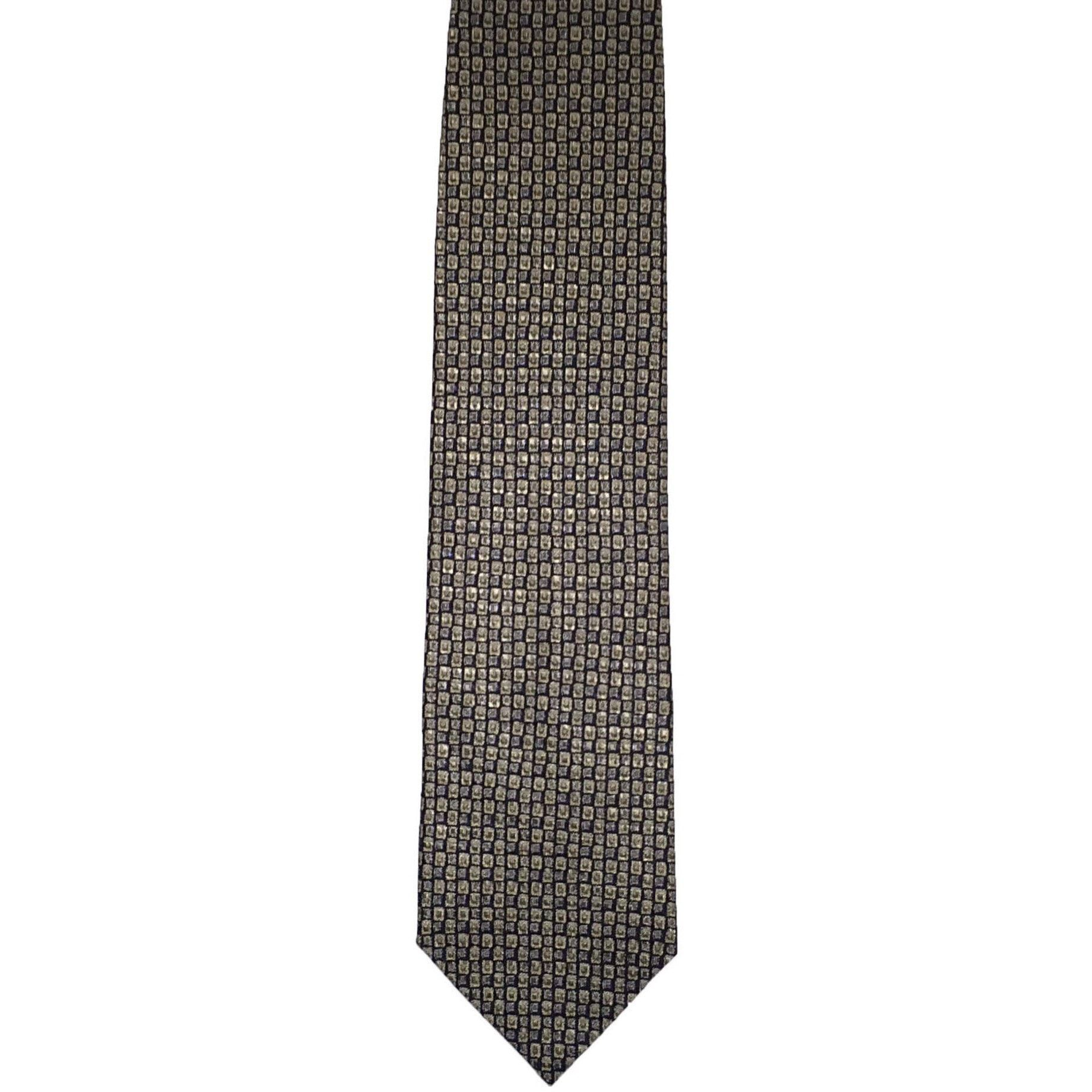 Daniel De Fasson Designer Foulard Wide Silk Tie - Multicolor ...