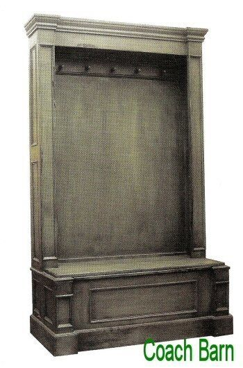 Cheltenham Bench Entry Hall Tall Cabinet Distressed Country European Style  NEW #Country