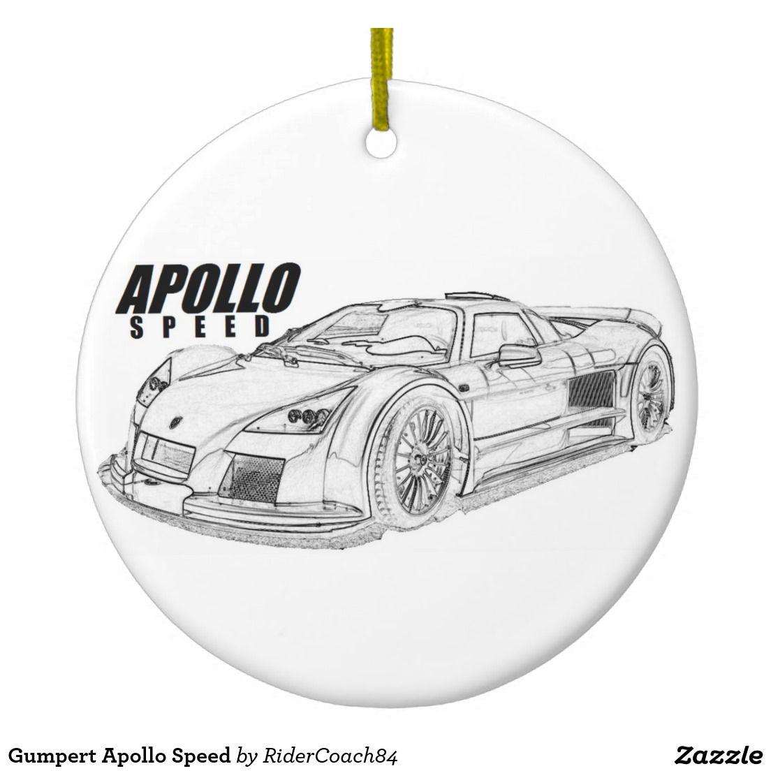 Gumpert Apollo Speed Ceramic Ornament