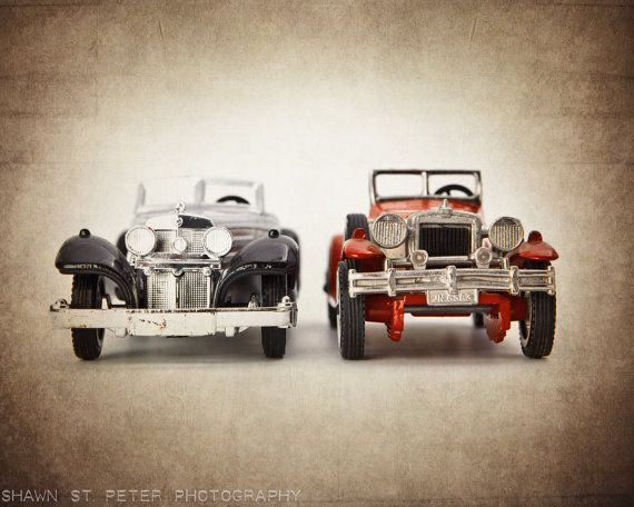 Vintage Toy Classic Cars Front View One 8x10 By Shawnstpeter 2000 Another Possible Nursery Theme