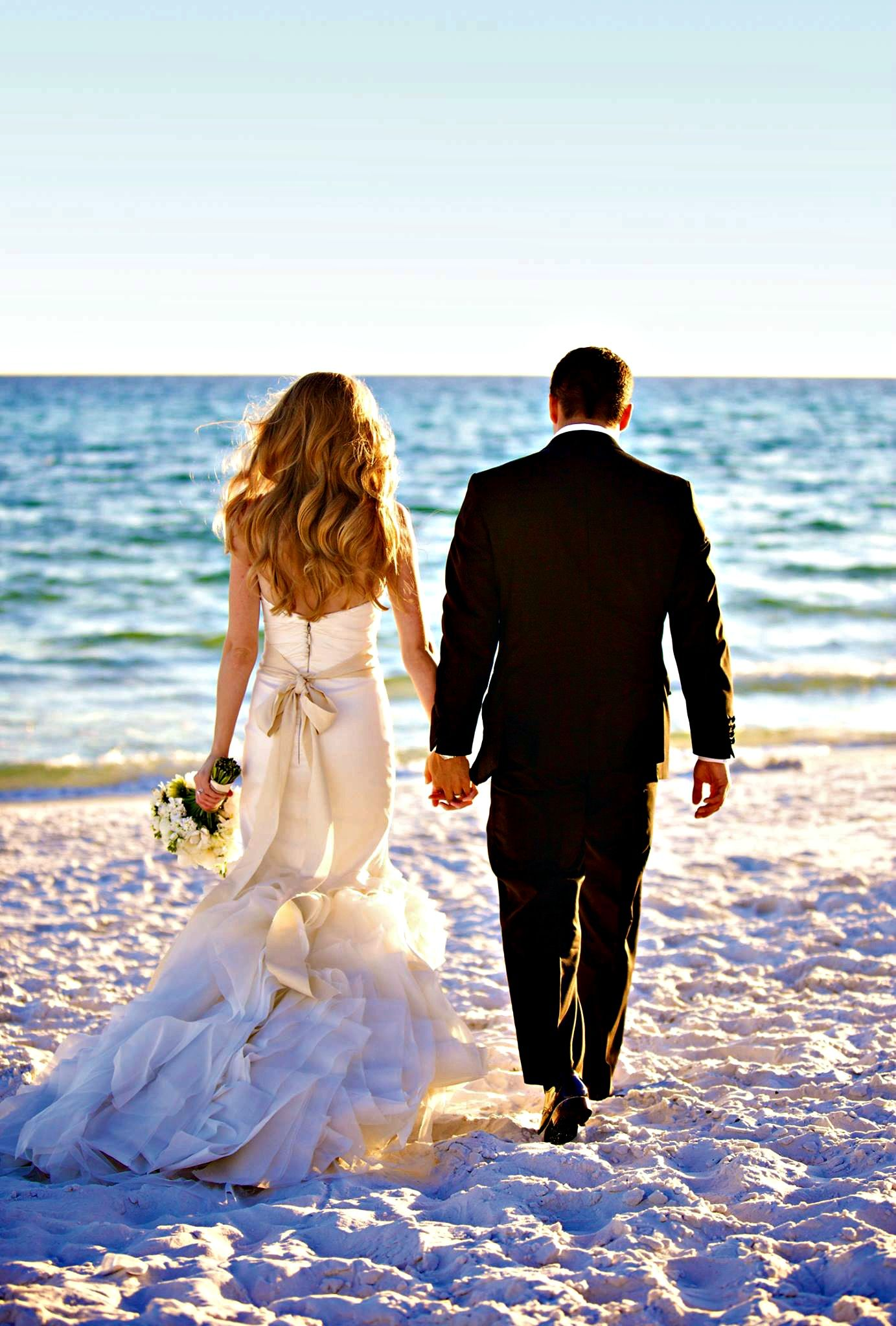 Both Romantic And Practical Beach Weddings Are Popular With Busy