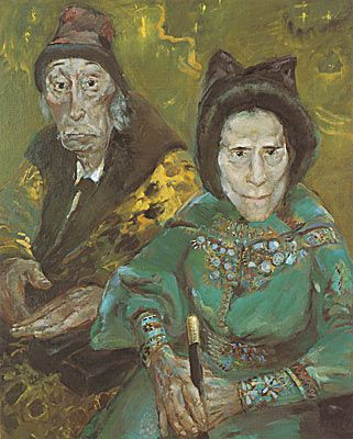 Gala and Dali, 1982/83  by Sighard Gille