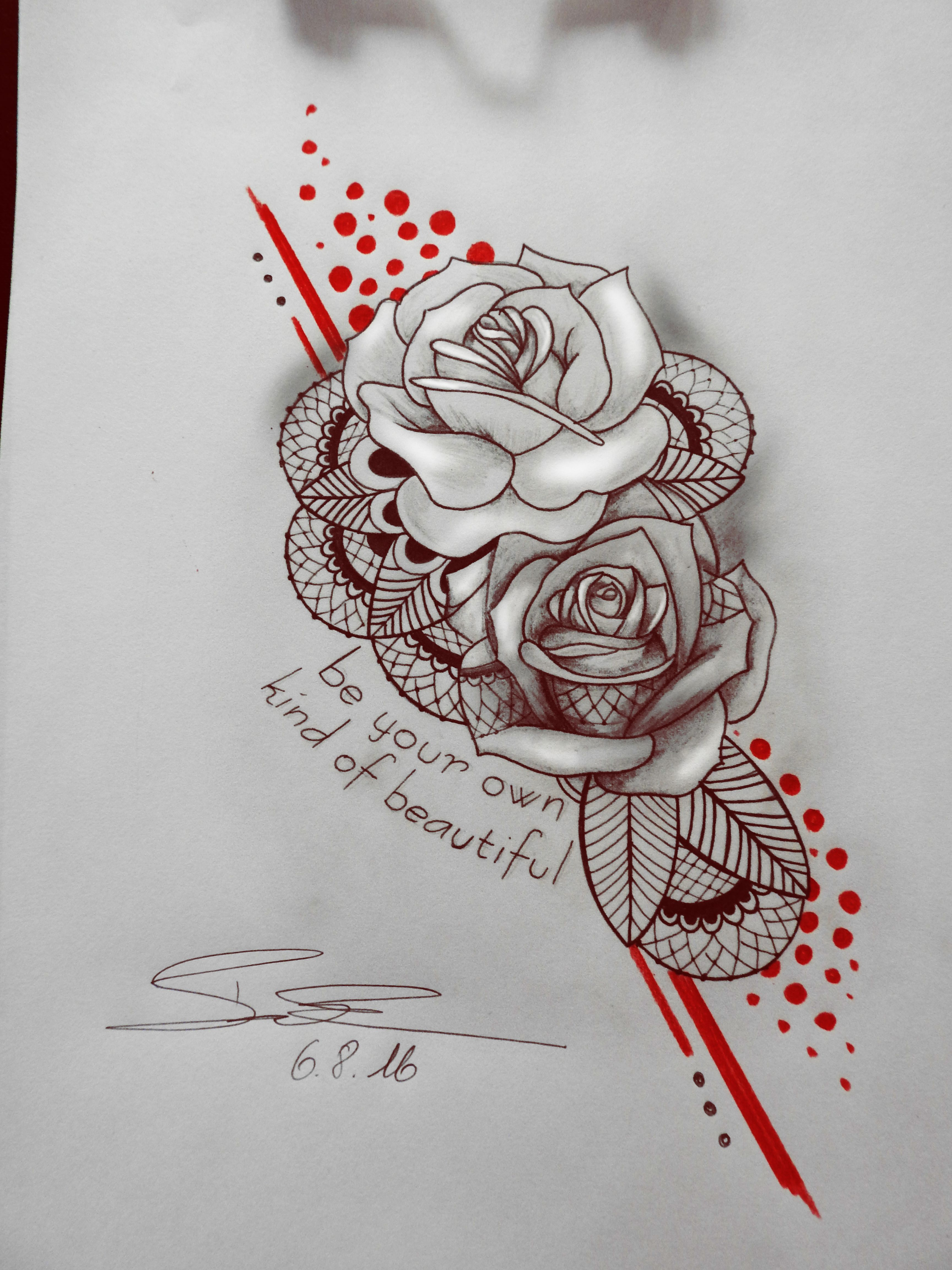 tattoo art design custom drawing pencil vorlage. Black Bedroom Furniture Sets. Home Design Ideas