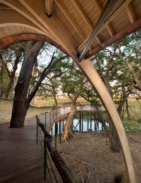 Sandibe Okavango Safari Lodge In Botswana By Nicholas Plewman Architects  Andu2026