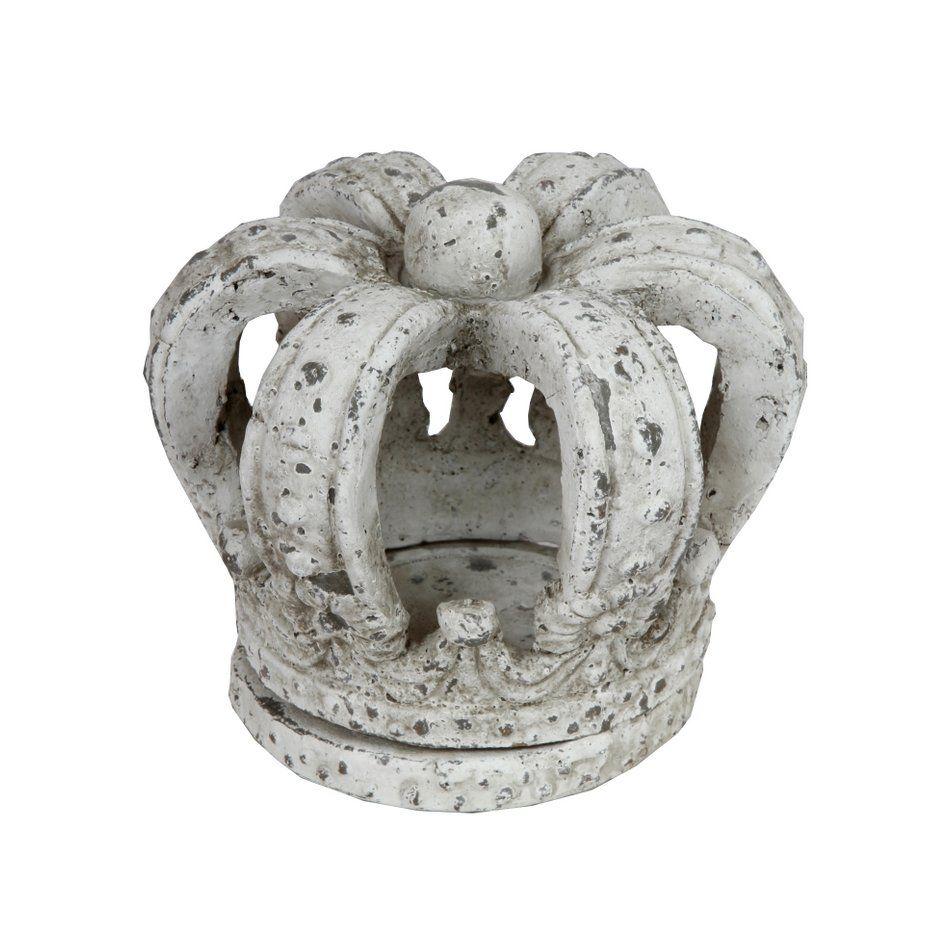 Privilege 66178 Ceramic Crown Statue, Cement - Outdoor Living Showroom  Teschi