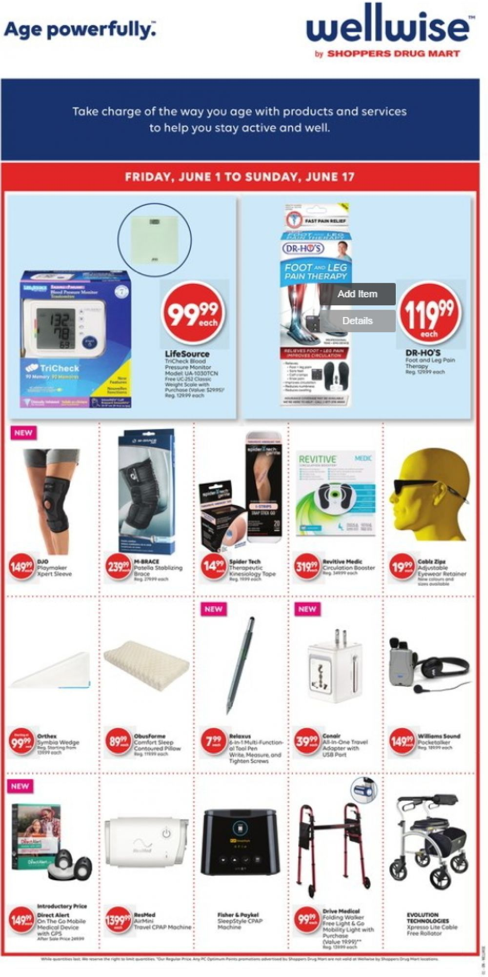 Flyer WellWise by Shoppers Drug Mart Canada - from Friday