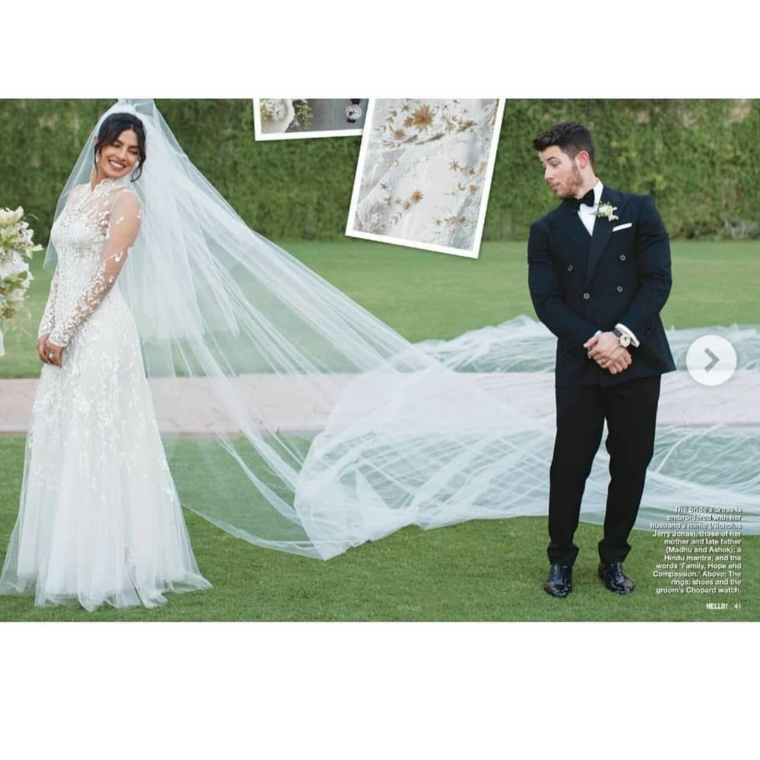 priyanka chopra wedding veil video